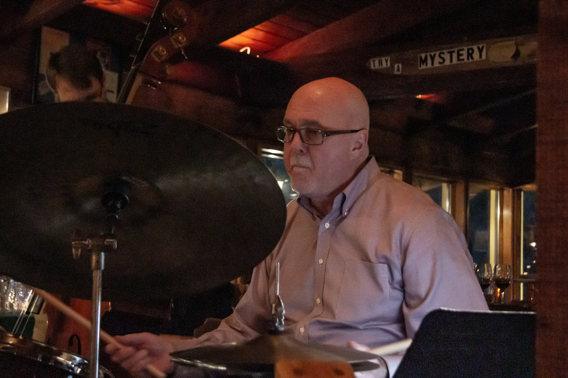 Tim Davis, drums