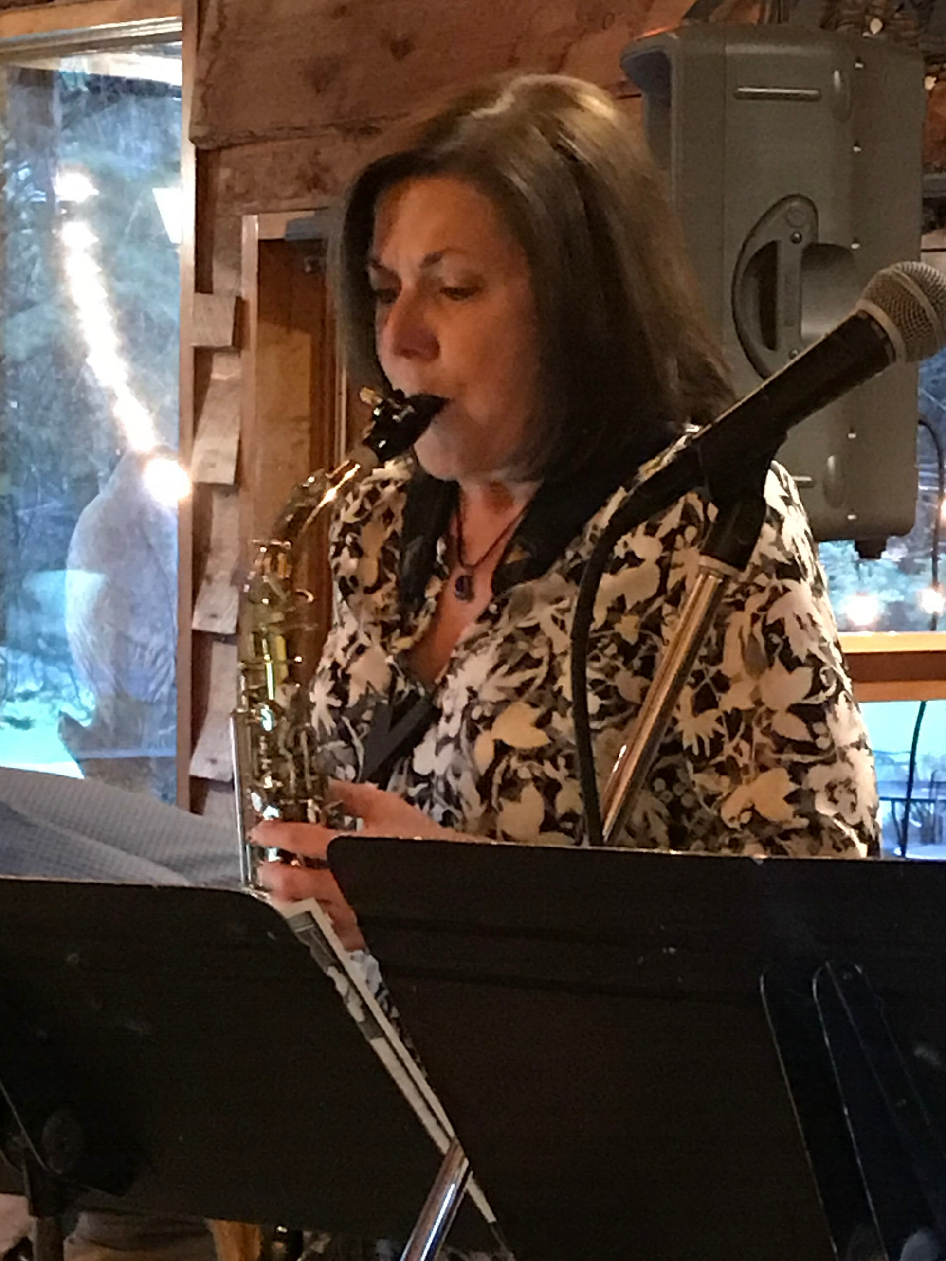Katie O'Meara, saxophone