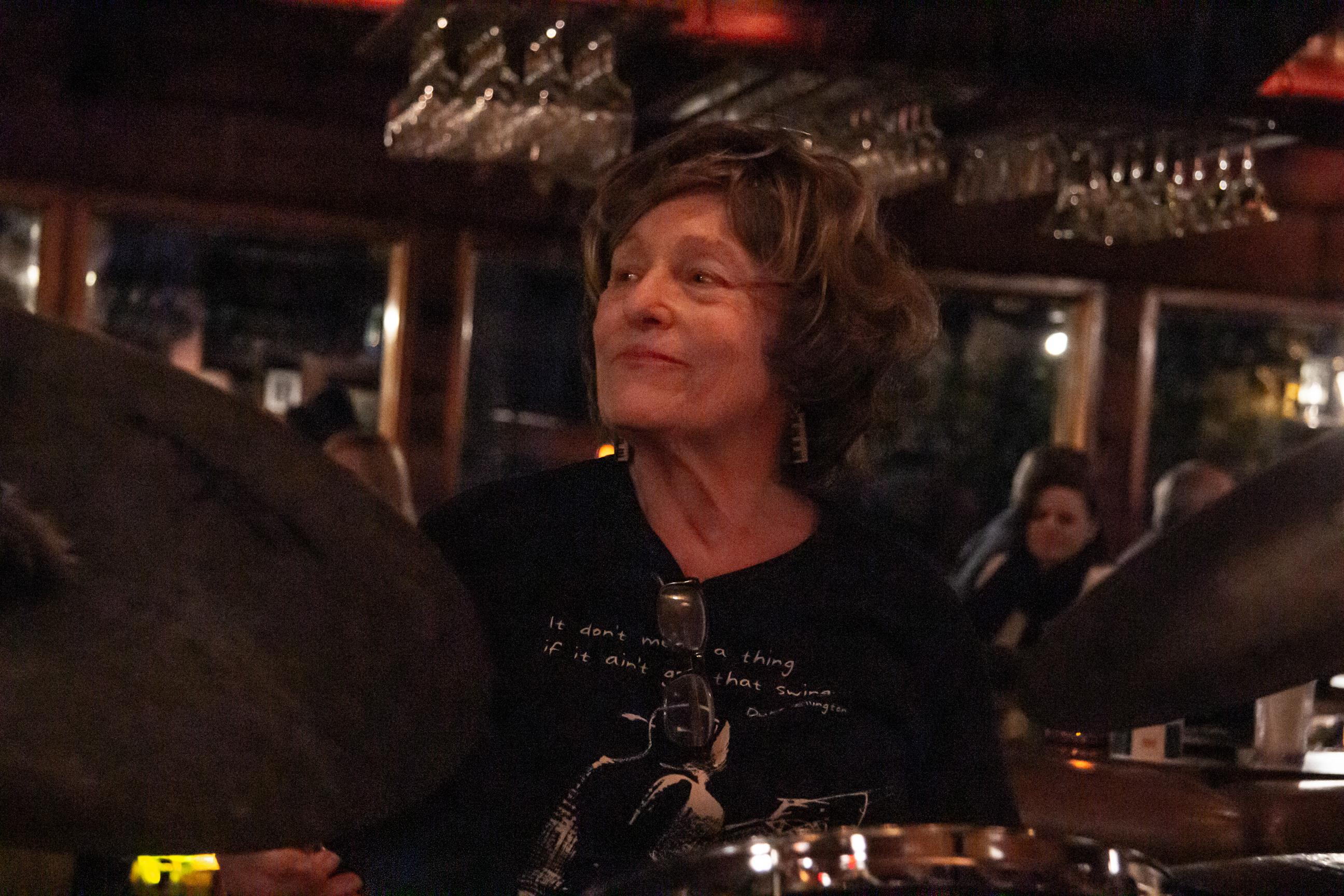Coralie Prince, drums